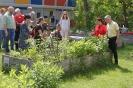 Katarina Witt besucht unser Projekt Gartenvielfalt statt Einfalt in Buch